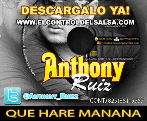 HOY EN FACTURA SALSA ANTHONY RUIZ DEBUTA CON SU BANDA EN VIVO! @ANTHONYRUIZRD