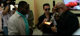 MARC ANTHONY RECIBE PREMIO CONGA DE LA SALSA (VIDEO) @eugeniosalsa