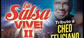 La Salsa Vive !  Salseros rinden tributo a Cheo Feliciano en NY (MSG)